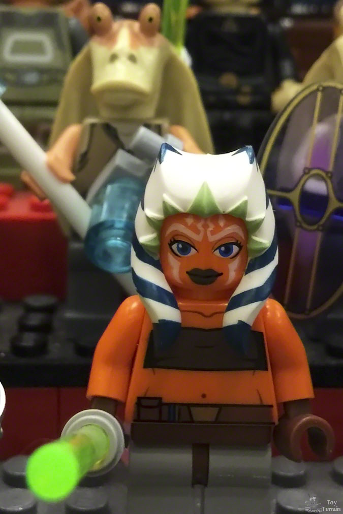 Ashoka Tano LEGO minifig at Arizona Toy Con