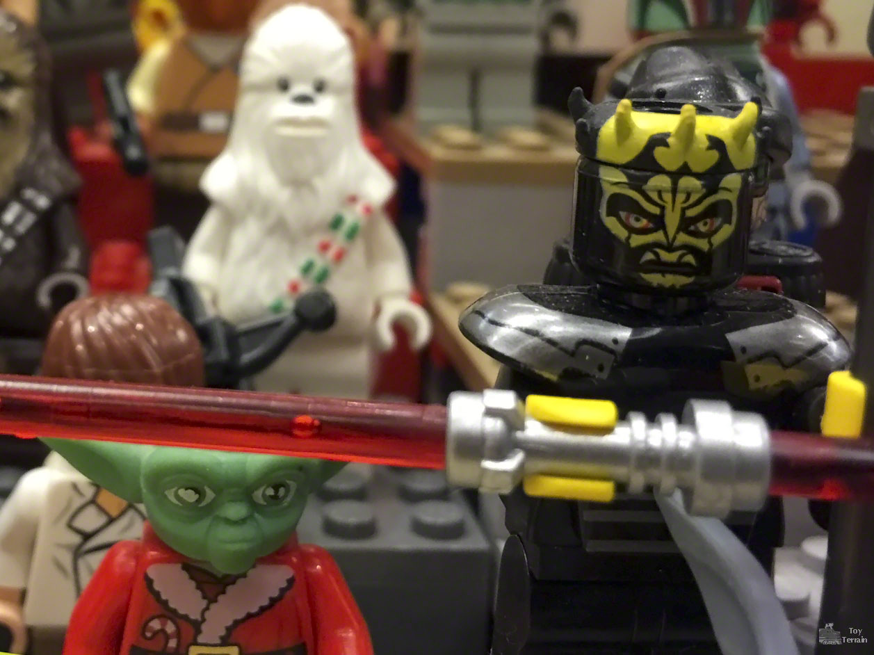 LEGO minifigures at Arizona Toy Con