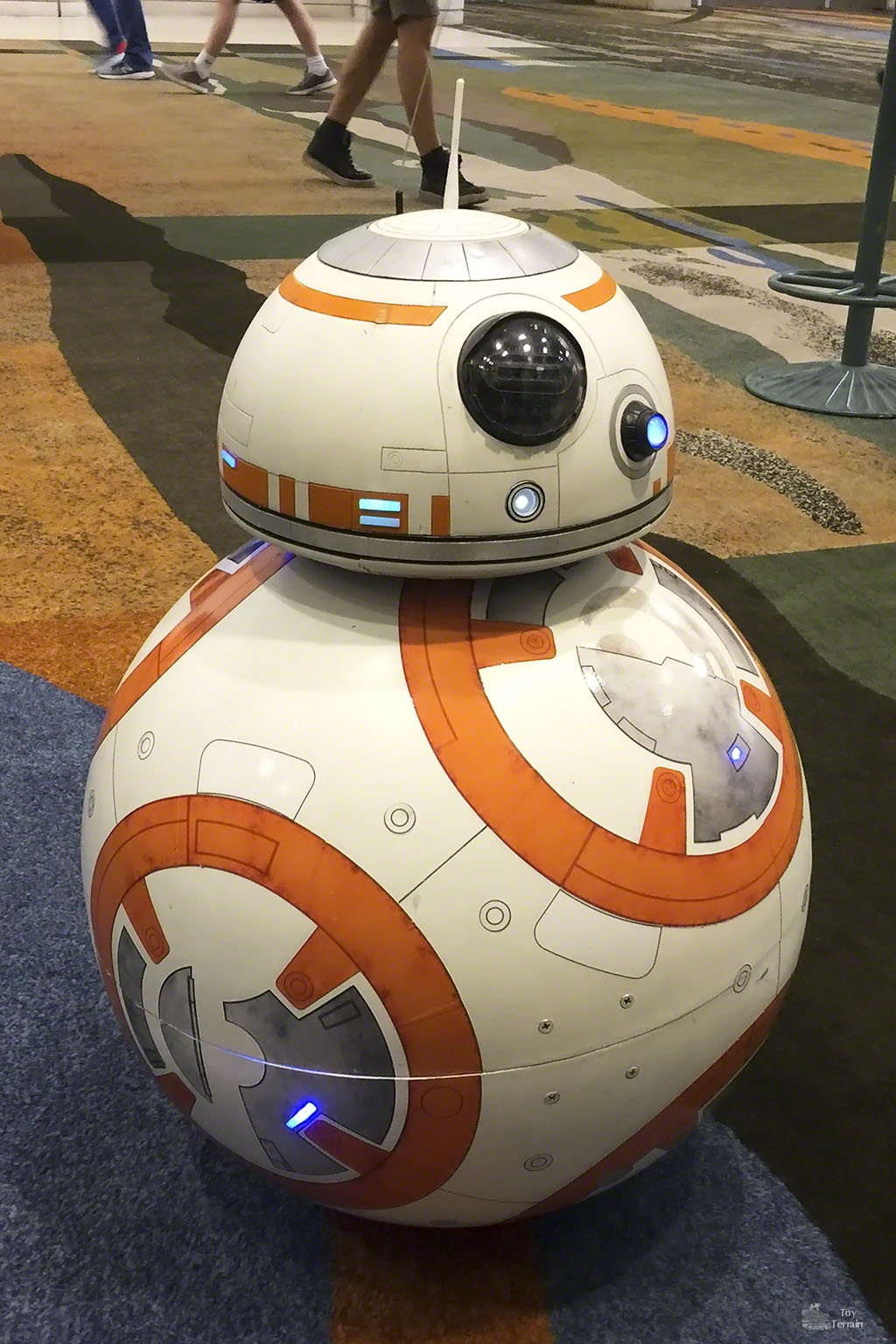 BB-8 real droid at Star Wars Celebration