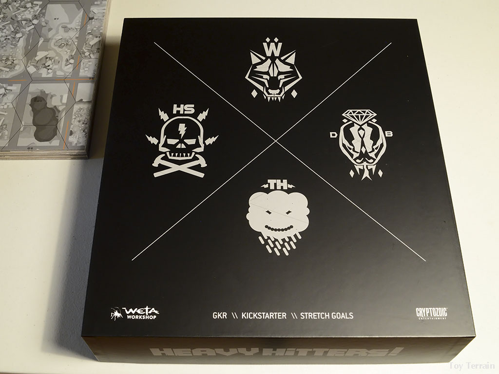 Kickstarter box for GKR Heavy Hitters