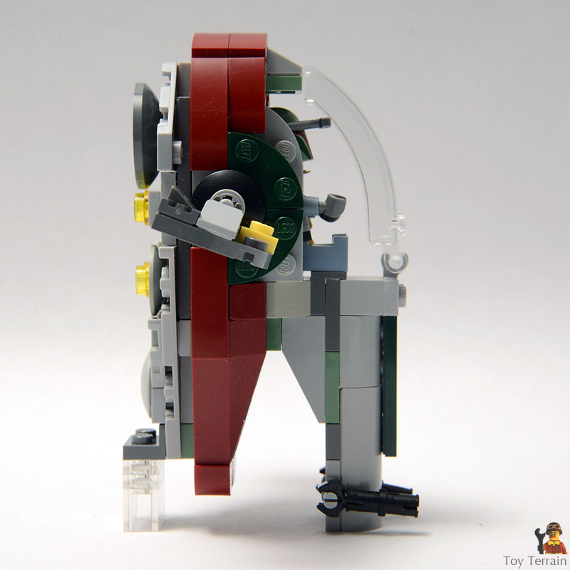 Star Wars Slave 1 MOC Microfighter profile